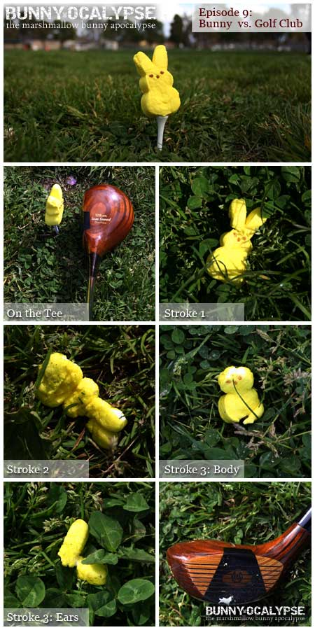 bunny vs golfclub
