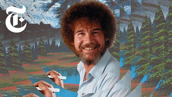 Finding the Paintings of Bob Ross