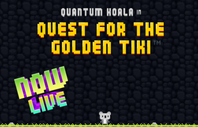 Now live: the Quantum Koala Video Game