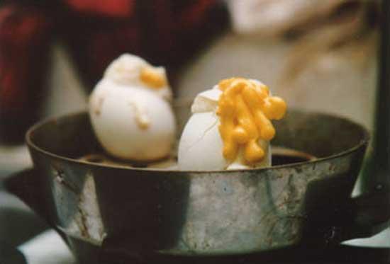 Egg Volcanoes