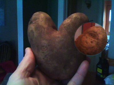 Heart Potato, Face Potato