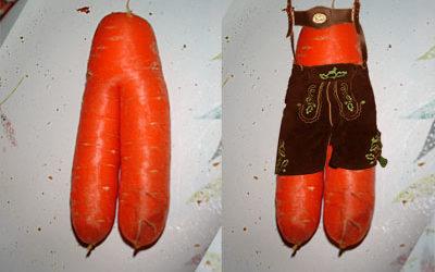 Carrot Legs meets Lederhosen