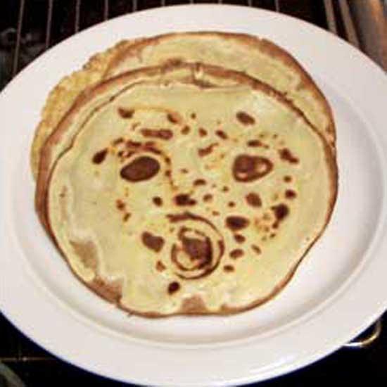 Man in the Pancake