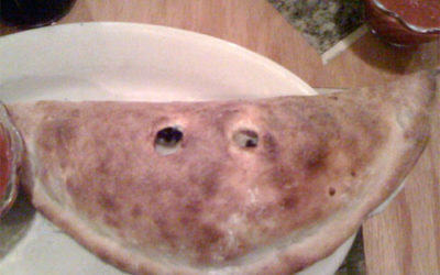 Smiling Calzone