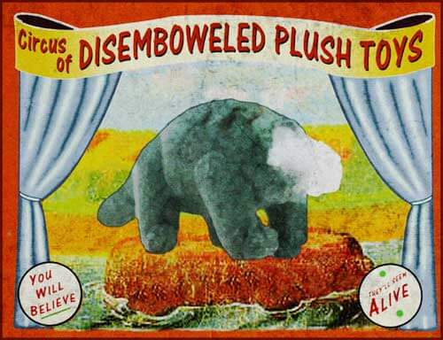 Plushtoys Circus Poster