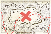 Hanttula Definitely Real Treasure Map