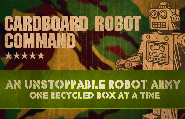 Cardboard Robot Command