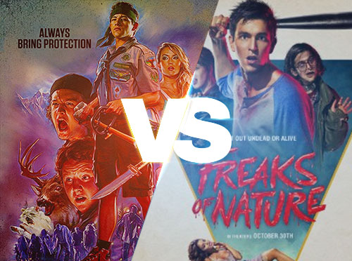 Scouts Guide to the Zombie Apocalypse vs. Freaks of Nature