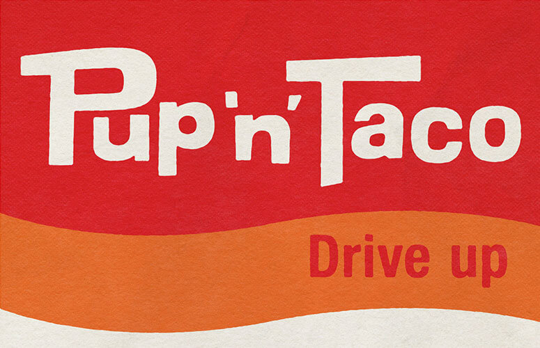 Pup 'n' Taco Brand Preservation